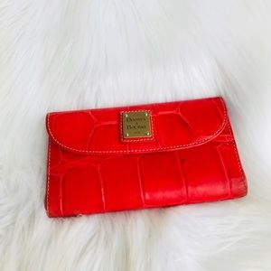 Dooney & Bourke Croc Embossed Wallet